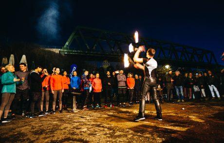 René Albert | Feuerartistik – Asics FrontRunner – FuseX Präsentation: ASICS Urban Pack Weekend