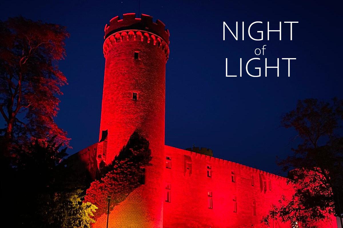 Night of Light 2020 Landesburg Zuelpich