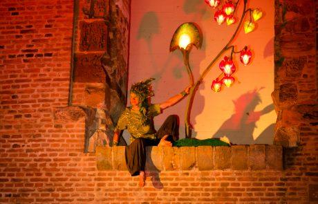 Night of Light 2020 Landesburg Zuelpich Pantao Lichterbaum Elf